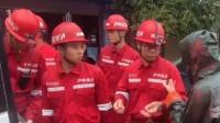 央视记者在四川灾区直播 被网友批评不专业