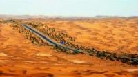 中国在塔克拉玛干沙漠,斥资上亿种大片胡杨林,视频拍下全貌