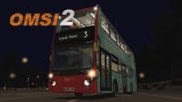 【OMSI2】巴士模拟2 时间全用在等红灯上了-伦敦地图3路-下期