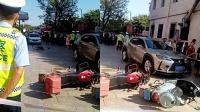 四川绵竹一男子驾车发生事故,造成6人不同程度受伤