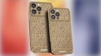 最贵iPhone13Pro上架:起售价27万,外壳用纯金打造