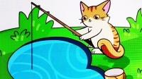 趣味小游戏,小猫咪想吃鱼吗