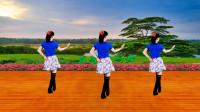 广场舞《待你披上婚纱》歌甜舞美美,背面示范带您跳