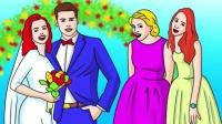 脑力测试:婚礼现场,谁是外星人?