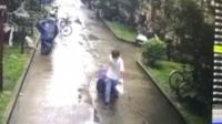 上海女子被装行李箱抛尸 嫌犯可偷窥其房间