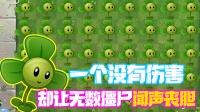 植物大战僵尸:一个没有伤害的植物!为什么能让僵尸闻风丧胆!