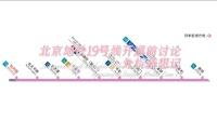 北京地铁19号线开通前讨论分析猜想记第三集三个出站换乘站如何换乘及车站空间示意图分析