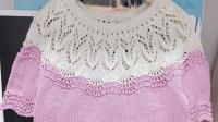 紫苏编织第196集水晶棒针套衫起针及领口(1)