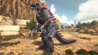 方舟生存进化:盖亚 38 捕捉机械哥斯拉三大怪兽沙漠赛跑