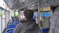 七台河6路纯电动环保智能公交车新车体验