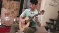 《巴赫前奏曲》高艺 使用自己制作的第二把吉他演奏