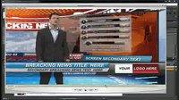 三维虚拟演播室ae模板内包字幕连线提示牌