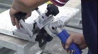 GPW-A01 石材倒角機 - 使用水磨片