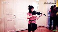 小提琴美女《结晶》现场版