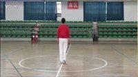 柔力球--《火火的爱》全民十套【背面】慢动作【鹤子字幕版】
