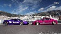 豪车大汇集!法拉利458與玛莎拉蒂GT改Fi Exhaust 响彻Top Marques Monaco 2016