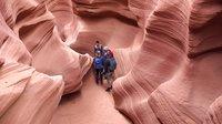 【寰宇视野】美国亚利桑那州羚羊峡谷旖旎风光美景