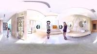 360 VR 全景 虚拟现实 颜值担当妮妮喷火辣舞陪你一起过情人节 这个情人节要开心哦!