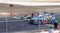F1赛车手刘易斯·汉密尔顿和拉力赛漂移大神Ken Block的跨界对决