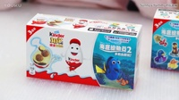 健达奇趣蛋玩具 海底总动员版玩具 开两盒 disney 迪士尼玩具 惊喜蛋 surprise eggs 一起玩玩具Sunny Yummy Kids TOYs