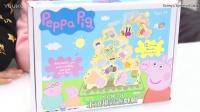 佩佩豬木頭堆高遊戲組玩具  多人桌上遊戲玩具 木製玩具親子桌遊玩具 玩具開箱一起玩玩具Sunny Yummy Kids TOYs peppa pig