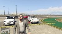 【虎墨】GTA5 MOD 日产leaf聆风VS奥迪RS6及游戏中三辆车