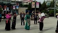西宁中心广场藏族锅庄视频32
