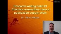 7個高效率研究者的好習慣 Habit #1 -华乐丝学术论文编修