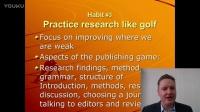 7個高效率研究者的好習慣 Habit #3 -华乐丝学术论文编修