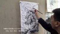 【画技教学】刘鹏凯雪景山水教学