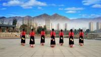 王梅广场舞 天边的巴拉格宗 编舞応子春英王梅 制作泉水叮咚