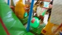 亲子互动游戏 益智玩具挖掘机视频表演 儿童乐园游乐场荡秋千溜滑梯玩具故事 汽车总动员海洋波波球滑梯太空舱火箭