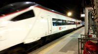 欧城列车EC 23苏黎世中央车站-米兰中央车站