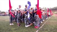 楚雄州-天人中学-军训开幕-徒步-滇影文化摄制