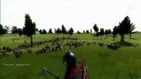 外国骑马与砍杀 玩家 千人大战视频