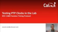在实验室测试PTP时钟