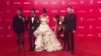 第19届上海电影节开幕红毯 郭富城张翰任达华帅气现身 160611