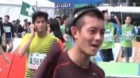 陈冠希跑完马拉松 做善事只要自己无愧 120206