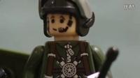乐高积木模拟坦克大战 lego定格动画 坦克世界 战争玩具