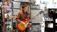 """甘肃省张掖市""""最小最拽的吉他手"""""""