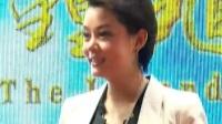 欧阳震华亮相上海电视节 为《钟馗传说》努力增肥