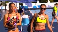 游泳世锦赛花游-单人自选决赛 满屏大长腿!游美女们香艳赛前准备