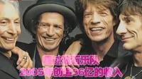 单次巡演创造财富值最多的乐队U2