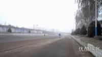 [拍客]辽宁下大雾能见度极低