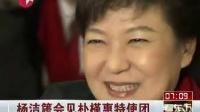 杨洁篪会见朴槿惠特使团