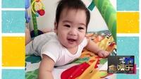 林志颖陪儿子玩耍享天伦 Kimi与弟弟温馨有爱 160612