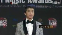 2012MAMA颁奖礼  2PM Jang Woo Young & Seo In Young 红毯秀