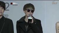 MAMA颁奖典礼 Super Junior 红毯秀