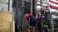 Mike Ling 训练实录 - 杠铃俯身划船
