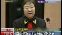 北京:刘志军案开审